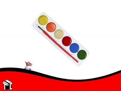 Acuarela Escolar Pedrito Playcolor X 6