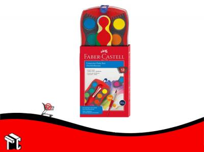 Acuarela Escolar Faber Castell Connector X 12