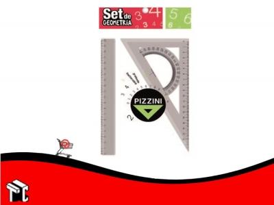 Kit Geometrico Pizzini 3 Piezas