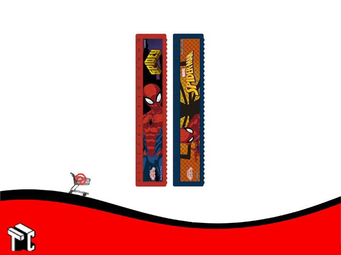Regla 15 Cm Spider-man