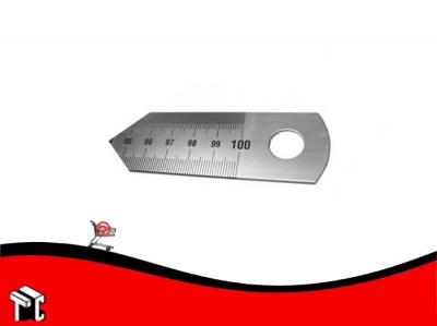 Regla De Acero Graduada Para Corte 100cm