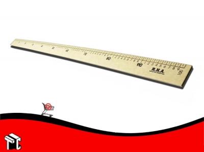 Regla Para Pizarron 100cm Sin Lustrar