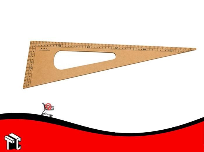 Escuadra Para Pizarron 60cm Lustrada