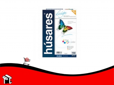 Resma Húsares Design 150 G. A4 21 × 29.7 Cm. × 240 Hojas