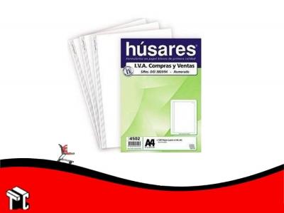 Formulario A4 Husares Iva Numerado 0-100 4502