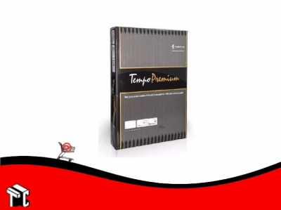 Resma Tempo Premium 75gr Oficio X 500 Hojas