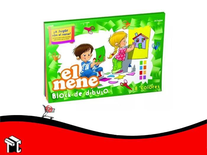 Block De Dibujo Nº5 Color El Nene 24 Hojas