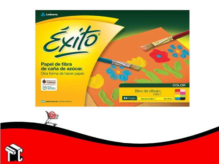Block De Dibujo N°6 Color Exito 24 Hojas