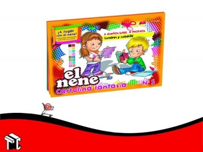 Block De Dibujo Nº5 Fantasia El Nene 24 Hojas
