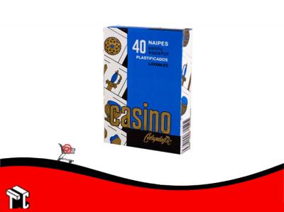 Naipes Casino Celuplastic Españolas 40