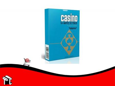 Naipes Casino Plastificado Poker 54