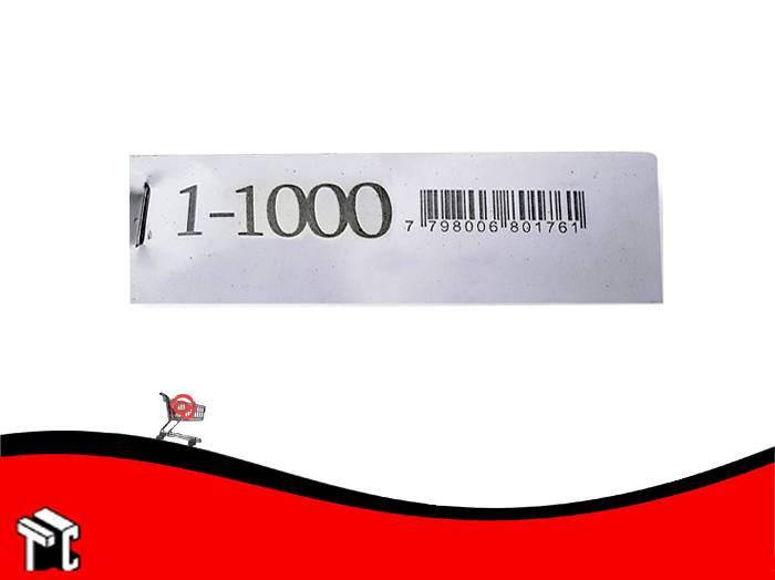 Talonario Guardarropa 1-1000 Mil28