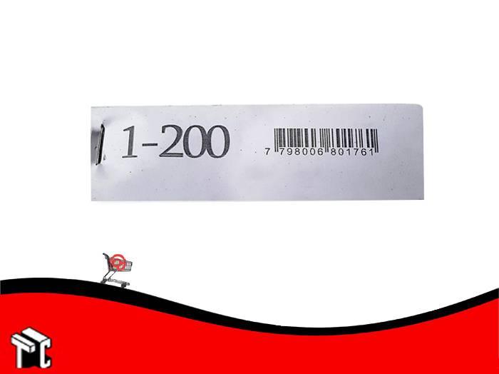 Talonario Guardarropa 1-200 Mil28