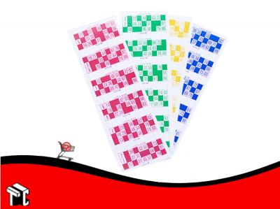 Talonario Para Bingo Por 600 Cartones