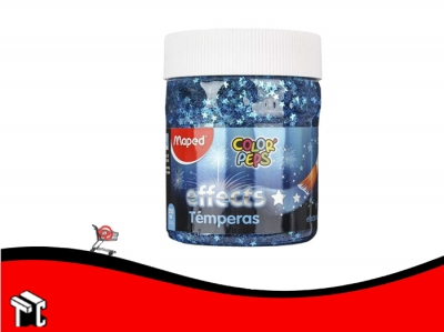 Tempera Maped X200ml Effect Estrellas
