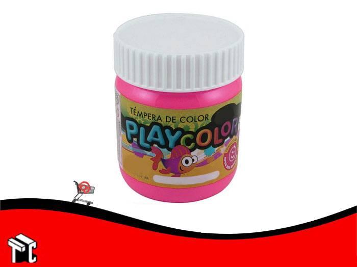 Tempera Playcolor Magenta X 300 Grs.
