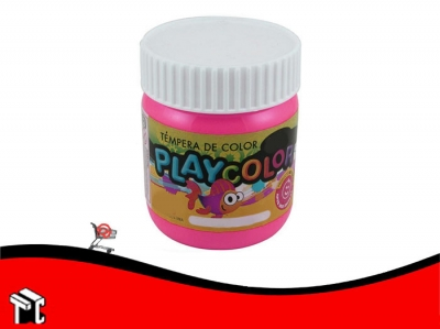 Tempera Playcolor Magenta X 300 Grs.