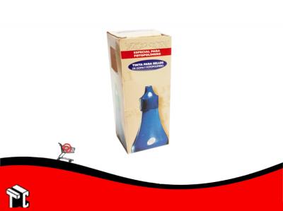 Tinta Para Sello Señorita 4k 28 Cc Azul