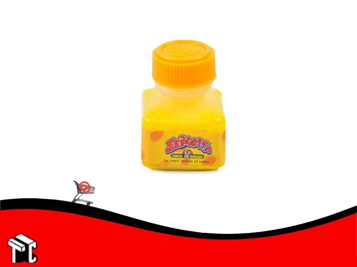 Tinta China Señorita X 15 Cc Amarilla
