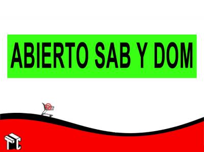 Faja Adhesiva Abierto Sab Y Dom