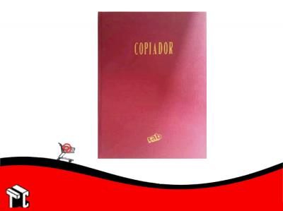 Libro Copiador 100 Pag Tapa Roja 2636