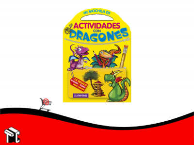 Coleccion Mi Mochila De Actividades Con Dragones