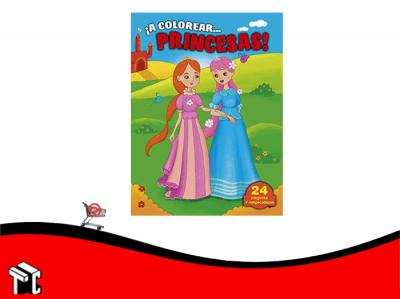 Coleccion A Colorear Princesas