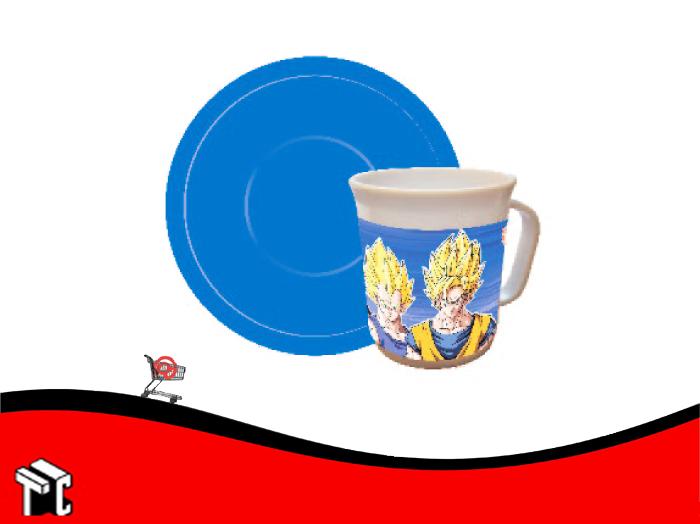 Taza Con Plato Dragon Ball