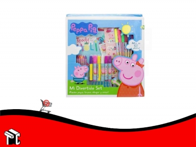 Set De Arte Peppa Pig 50 Piezas