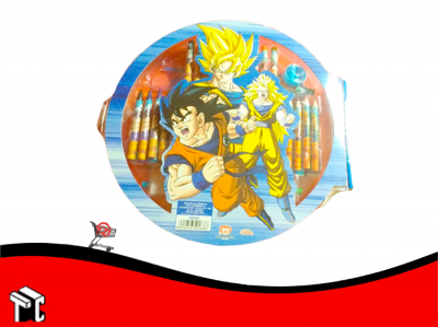 Set De Arte Dragon Ball 58 Piezas De Arte Db005