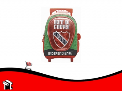 Mochila Con Ruedas 18 Pulgadas Independiente In103