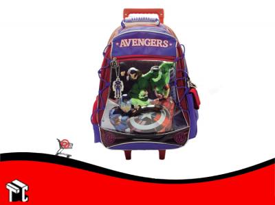 Mochila Con Ruedas 18 Avengers Sp284