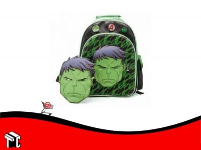 Mochila Espalda 16 Pulgadas Hulk Sp419