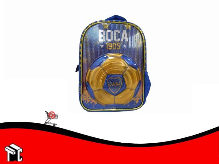 Mochila Espalda 12 Pulgadas Boca Juniors Bo005
