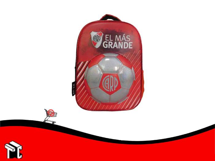 Mochila Espalda 12 Pulgadas River Plate Ri112