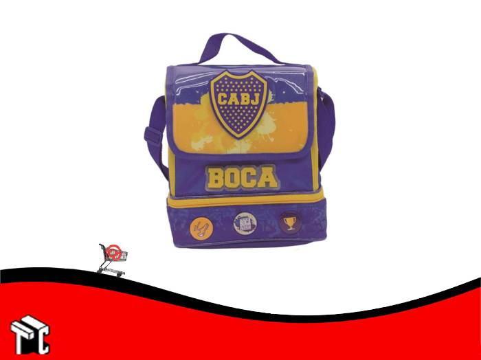 "Lunchera Boca Juniors 10"" Bo002"