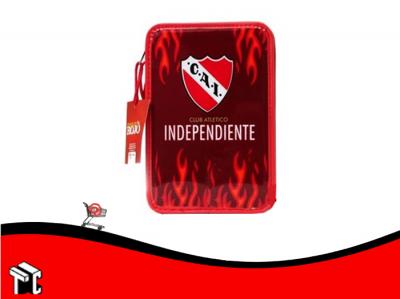 Cartuchera 2 Pisos Pvc Independiente