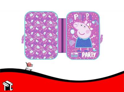 Cartuchera 2 Cierres Peppa Pig Pp367