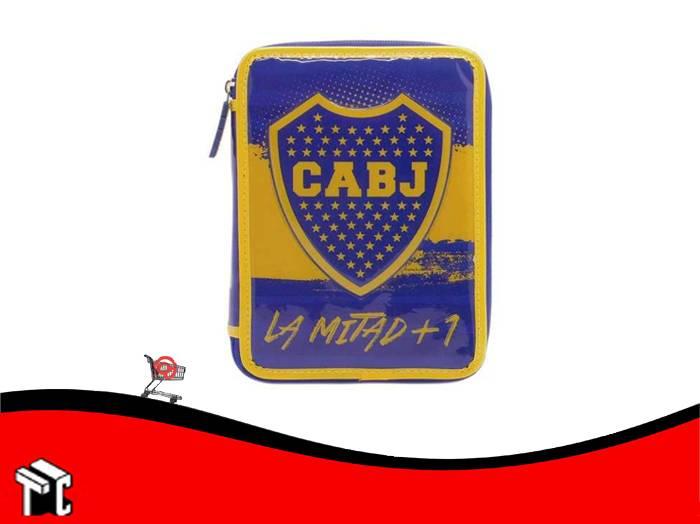 Cartuchera 2 Pisos Boca Juniors
