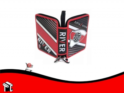 Cartuchera 2 Pisos Pvc River Ri027