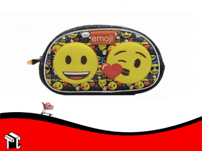 Cartuchera 1 Cierre 3d Emoji Tt092
