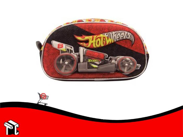 Cartuchera 1 Cierre Hot Wheels Hw186