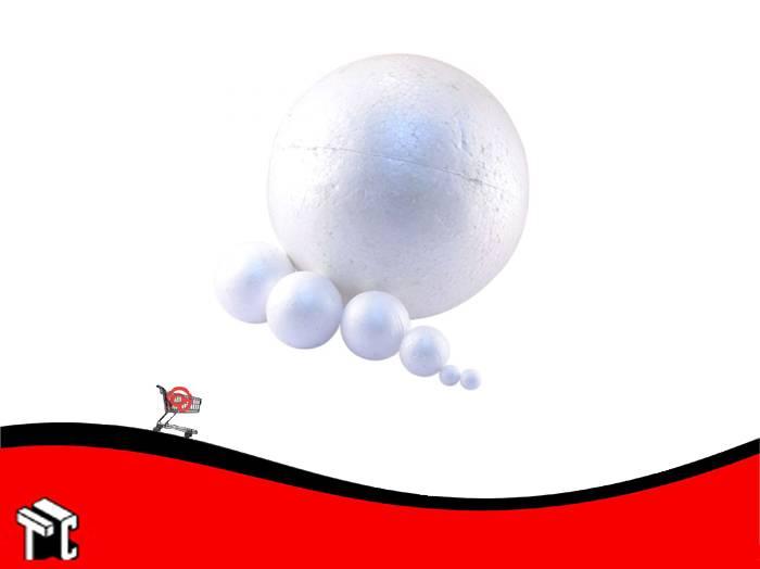 Esfera De Telgopor 60 Mm X 10 Unidades
