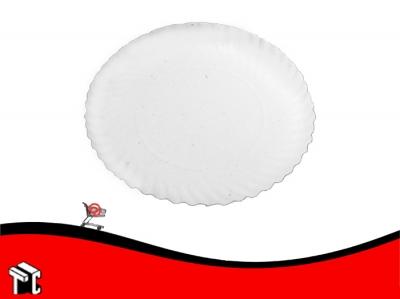 Bandeja De Carton Color Blanco N.° 12 1/2 X 100 Unidades