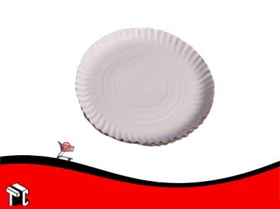 Bandeja De Carton Satinada Blanco N13 1/2 X 100 Unidades