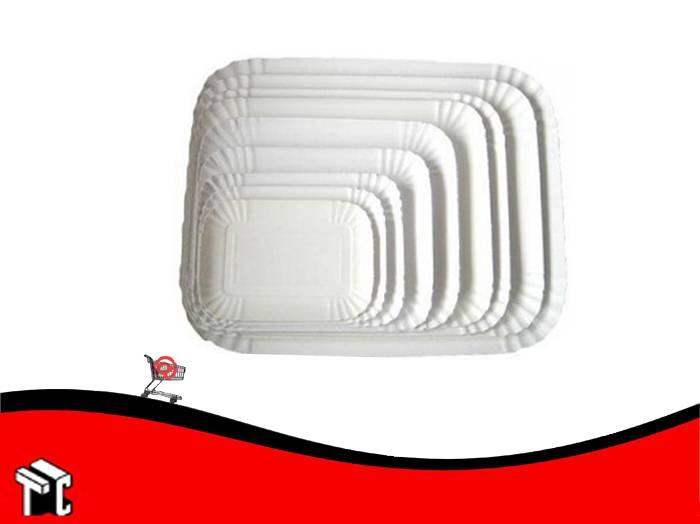 Bandeja De Carton Gastronomica N.° 4 X 100 Unidades