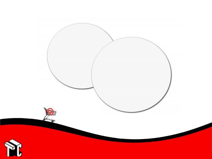 Disco De Carton Blanco Diametro 24 X Kg