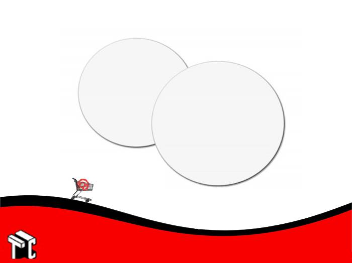 Disco De Carton Blanco Diametro 26 X 5 Kg