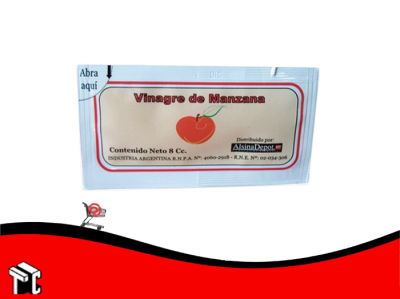Vinagre De Manzana 8 Cc X 200 Sobres