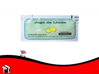 Jugo De Limon 8 Cc X 100 Sobres